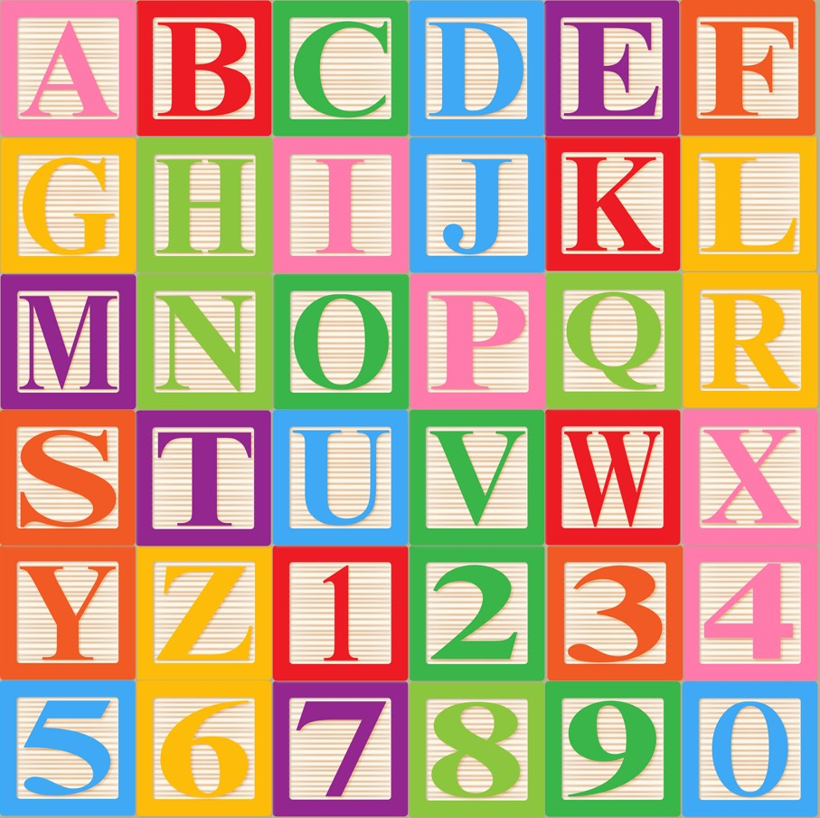 Abc blocks clipart black and white clip art library 4