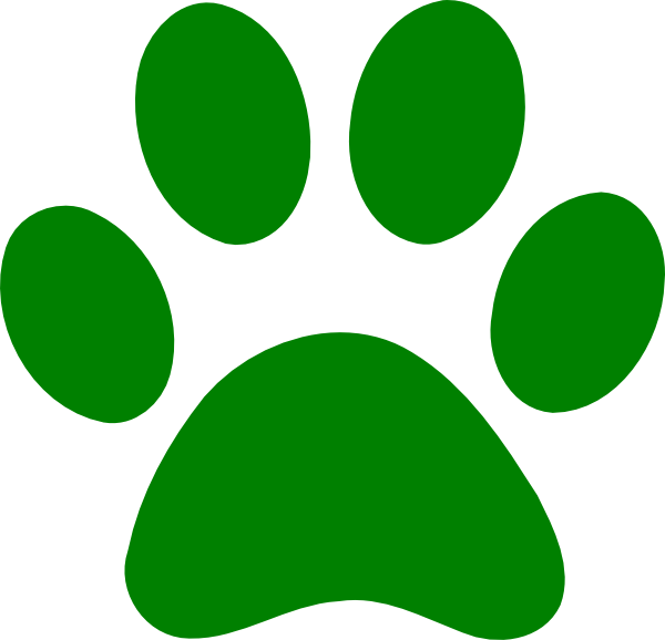Dog paw prints paw print clip art free images