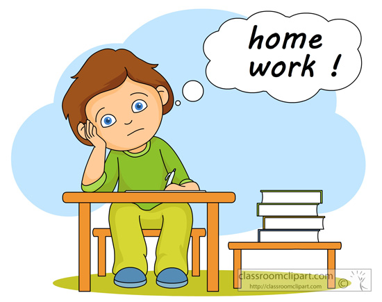 Doing homework homework clipart biezumd 2 clipartpost