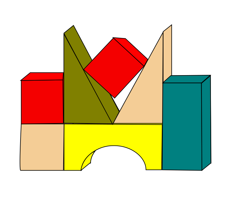Image for abc blocks clip art library 2
