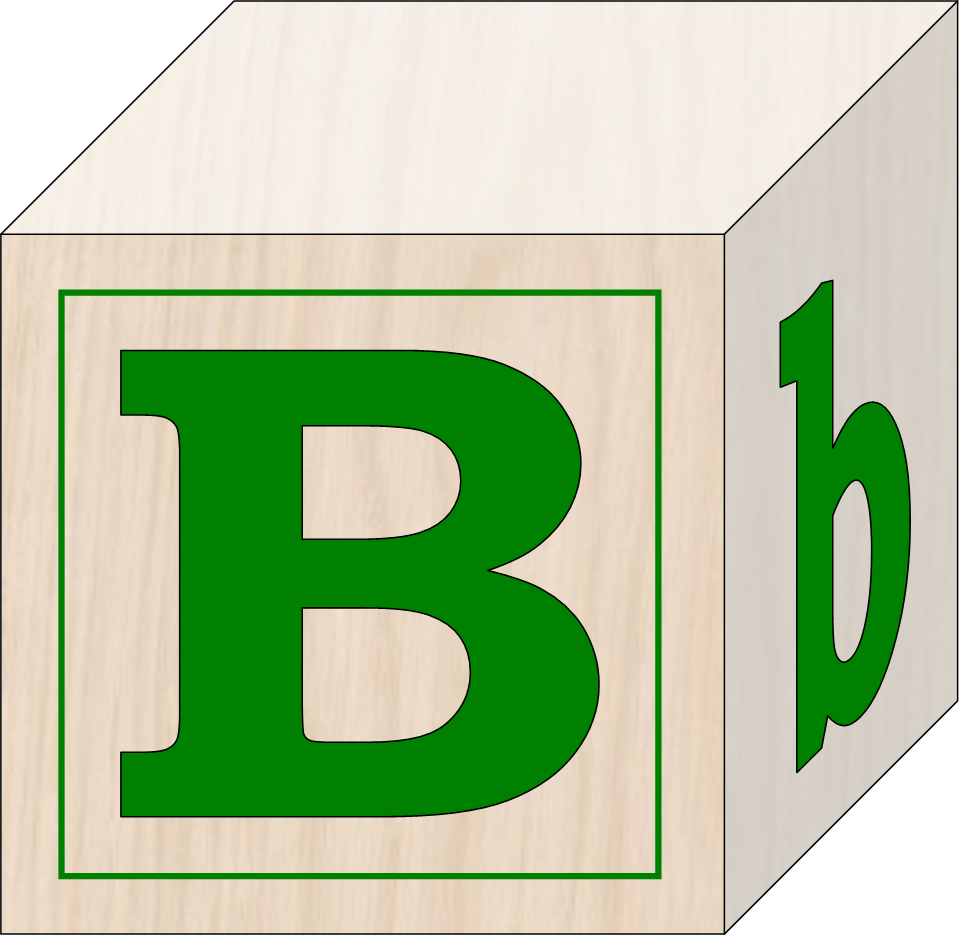 Image for abc blocks clip art library