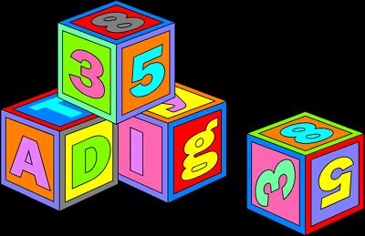 Image of abc blocks clipart alphabet clip art