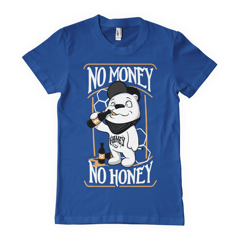 No money no honey shirt clip art tshirt factory