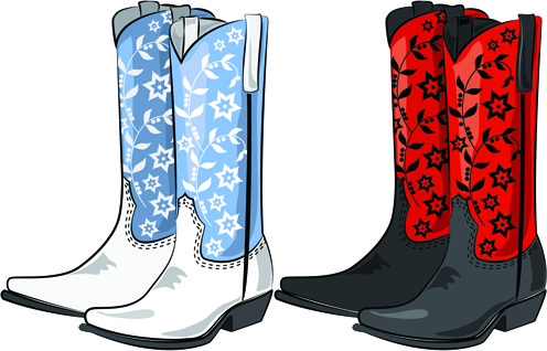 Rain boots vector free download free for clipart