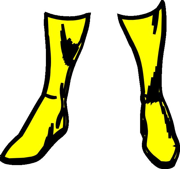 Totetude rain boots clip art at vector clip art