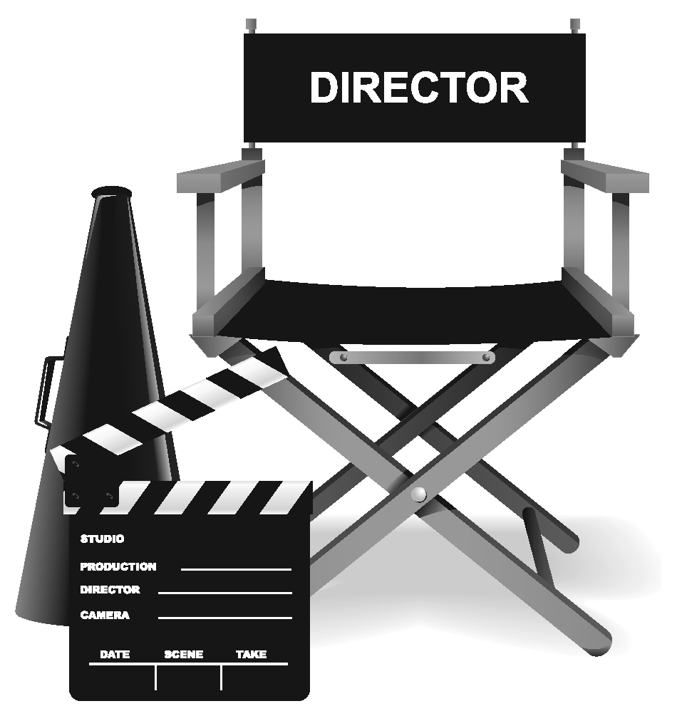 Director chair clipart cliparts and others art inspiration 3