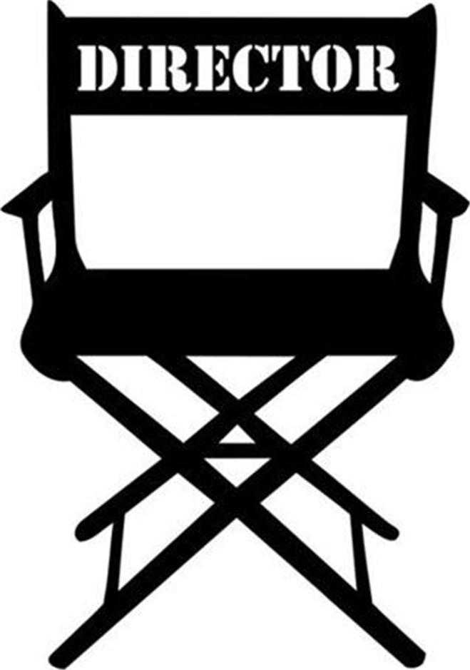 Director chair clipart cliparts and others art inspiration on
