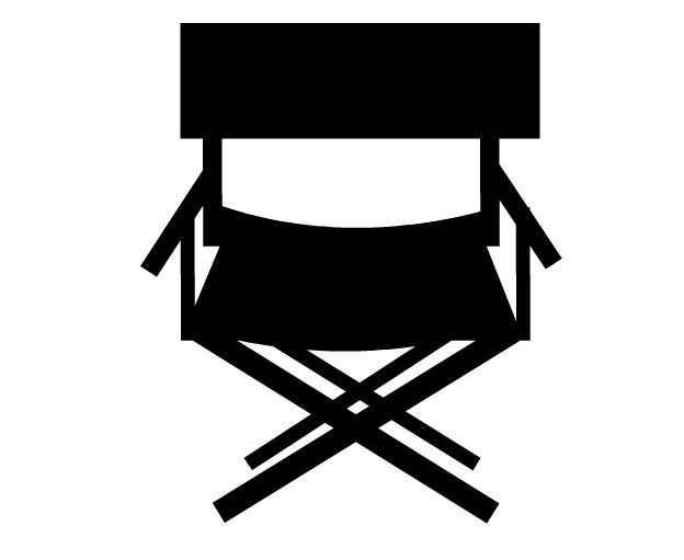 Director chair clipart cliparts and others art inspiration