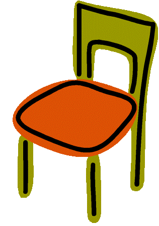 Director chair clipart image