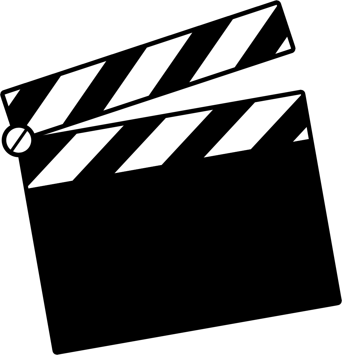 Director movie clapper clip art many interesting cliparts