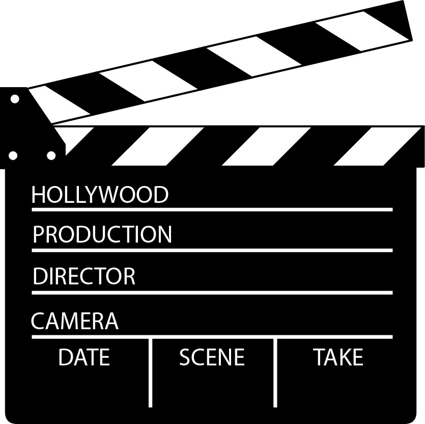 Director'cut board clipart