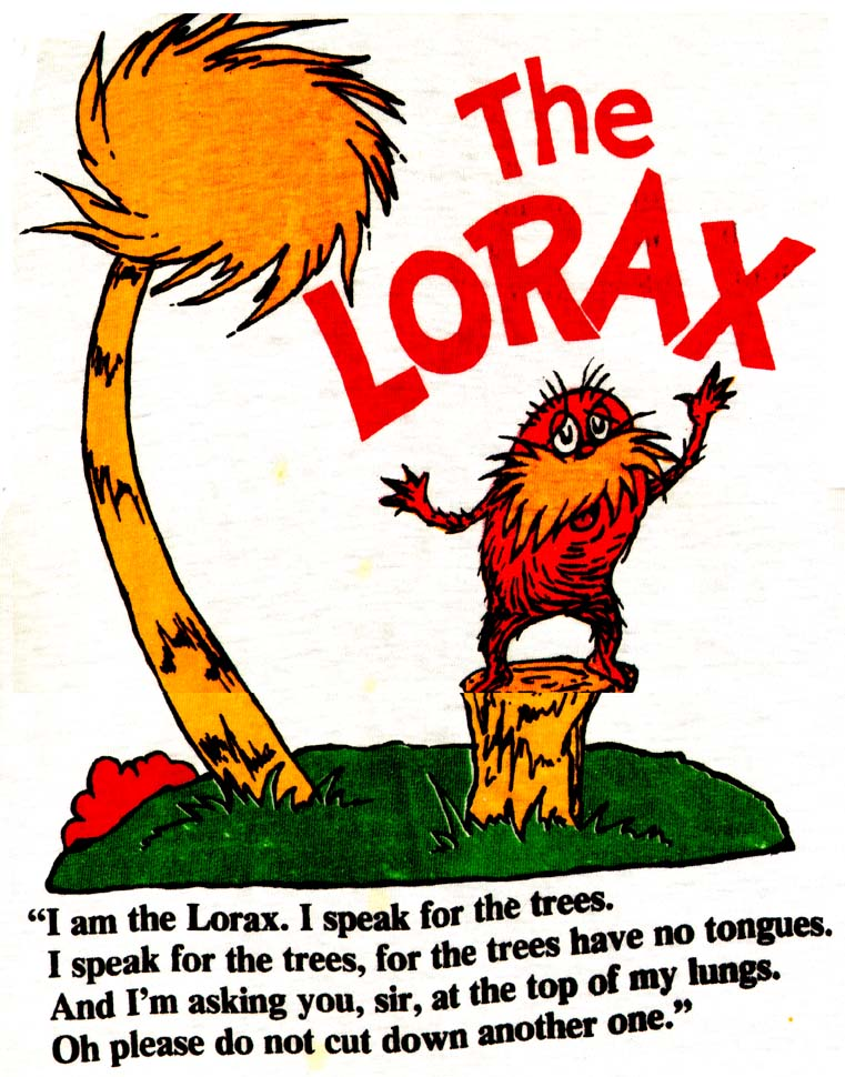 Dr seuss activity the lorax update an unconventional librarian clipart