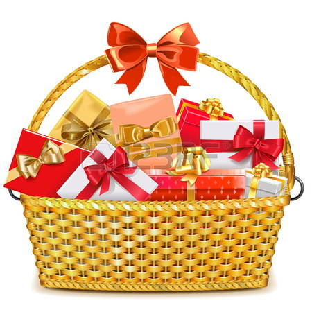 Gift basket basket clipart t hamper pencil and in color basket
