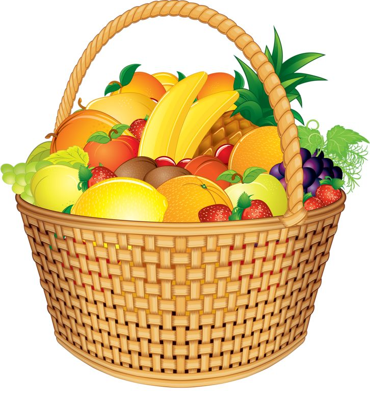 Gift basket fruit clip art and photos images on art