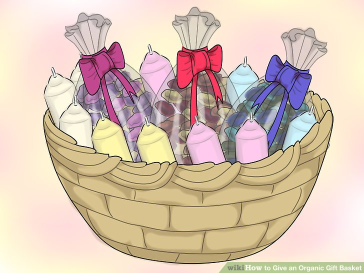 Gift basket how to give an organic t basket st with pictures clip art