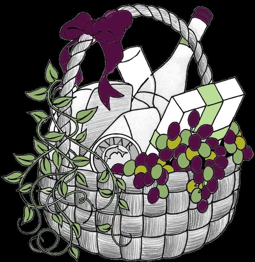 Gift basket t baskets clip art clip art library