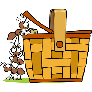 Gift basket wine t basket clip art