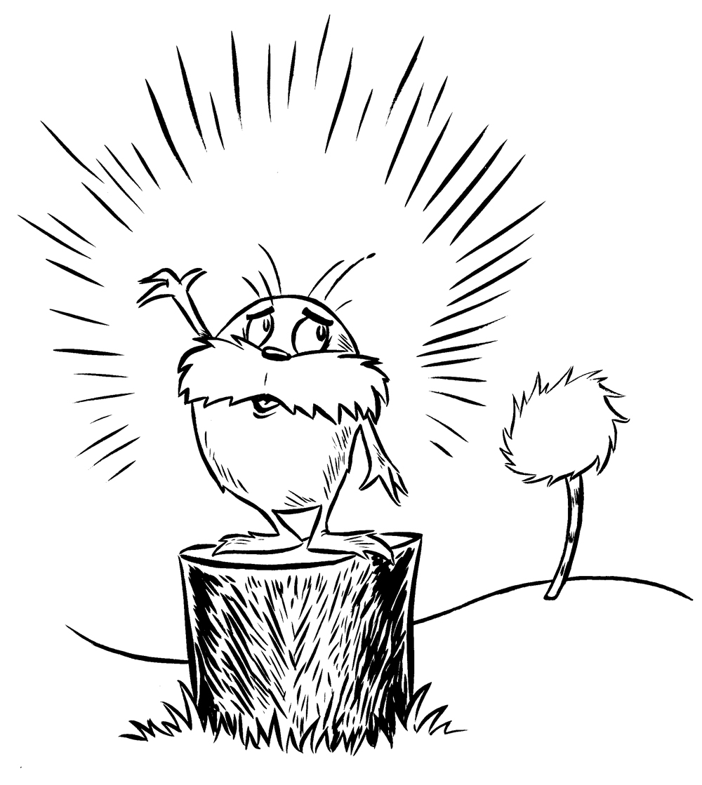 Lorax clip art many interesting cliparts
