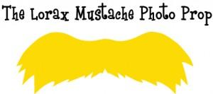 Lorax mustache clipart
