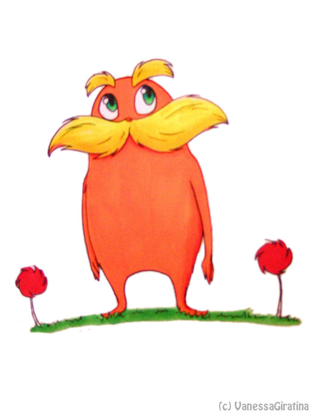 Lorax on thelorax club deviantart clip art