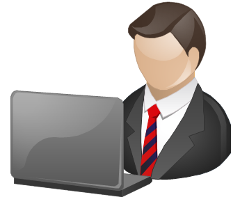 Managing director clipart