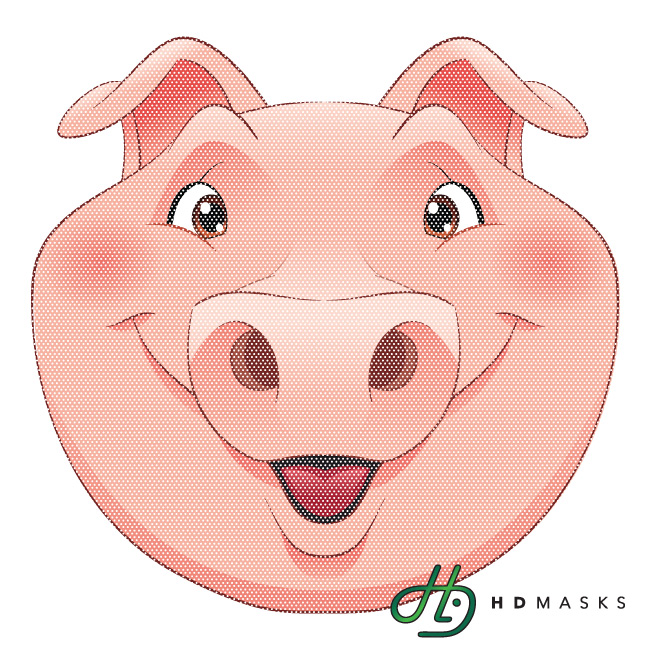 Cartoon pig face free download clip art on