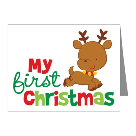 Christmas thank you 1st christmas 1st thank you cards note clip art