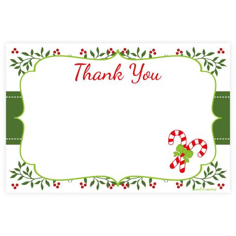 Christmas thank you cupcake themed thank you note cards madison and hill clip art