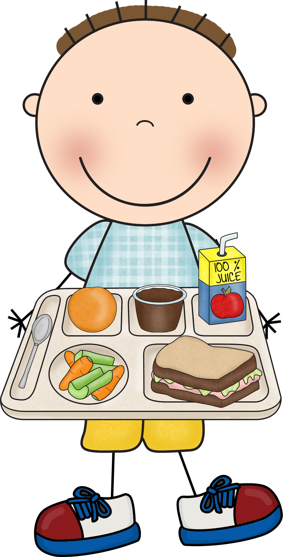 Lunch tray lunch clip art free clipart images 3 2