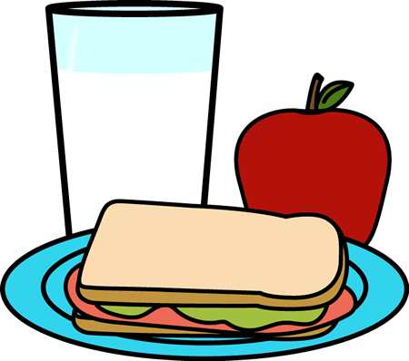 Lunch tray top lunch clip art free clipart image