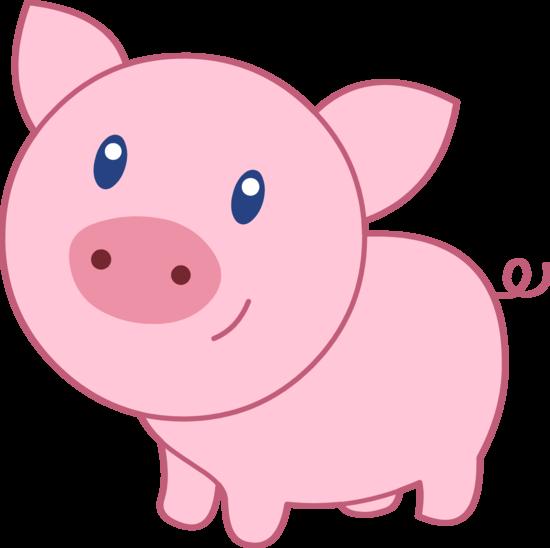 Pig face clip art 4