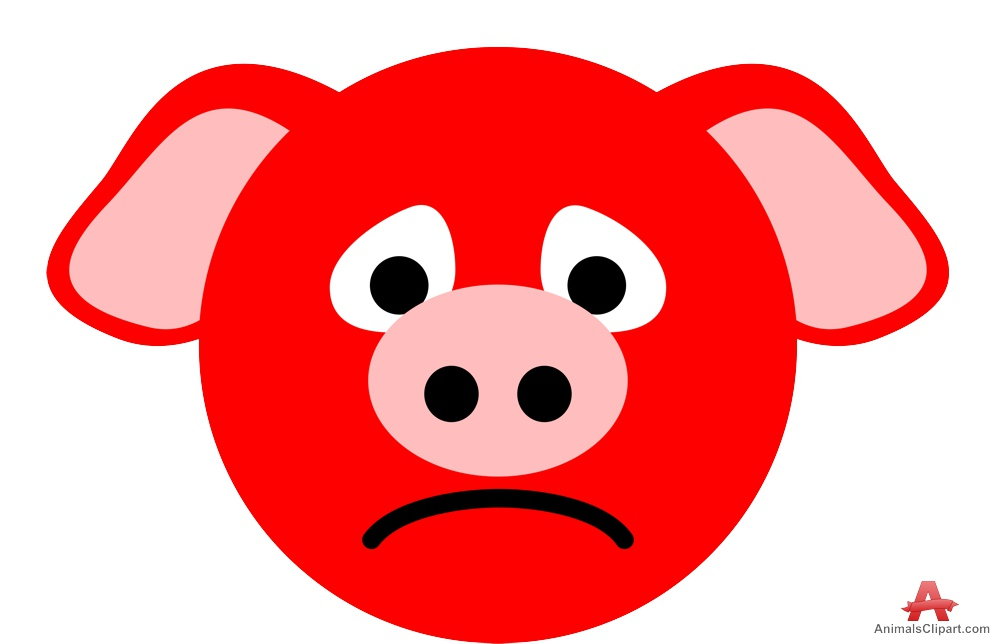 Pork clipart pig face pencil and in color pork