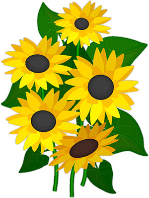 Sunflower  free free sunflowers animated clipart