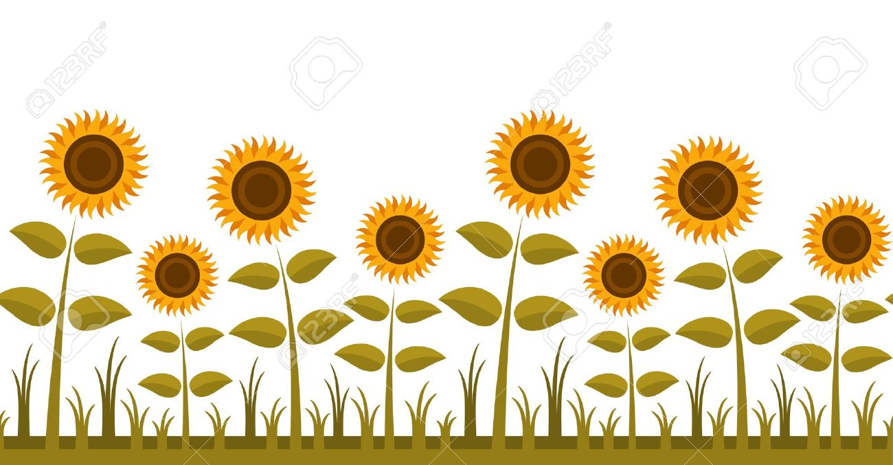 Sunflower  free garden clipart sunflower garden pencil and in color