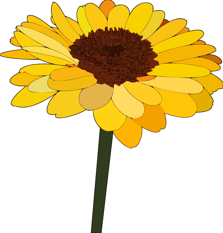 Sunflower  free sunflower clip art free printable clipart 3