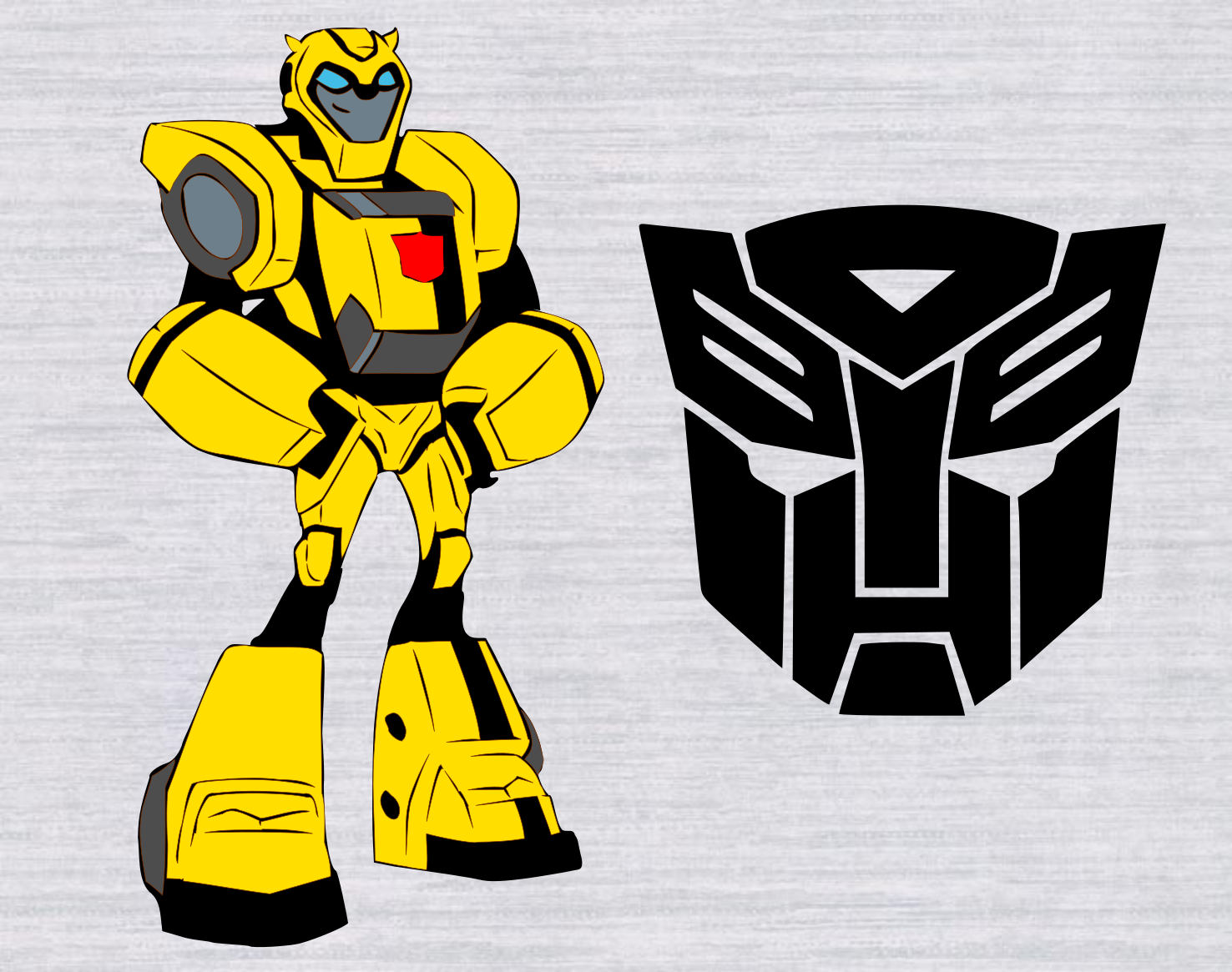 Transformers clipart bumblebee transformer pencil and in color