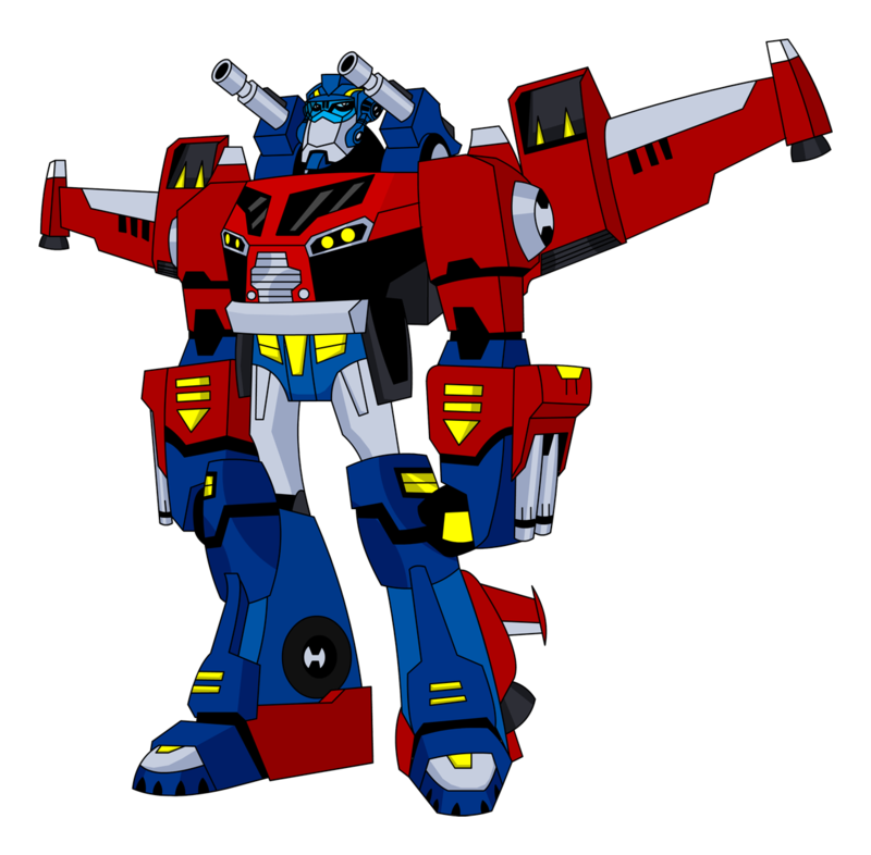 Transformers clipart optimus prime pencil and in color