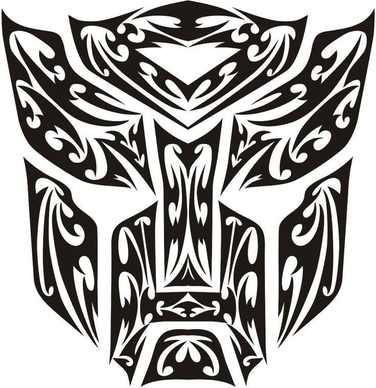 Transformers logo clip art