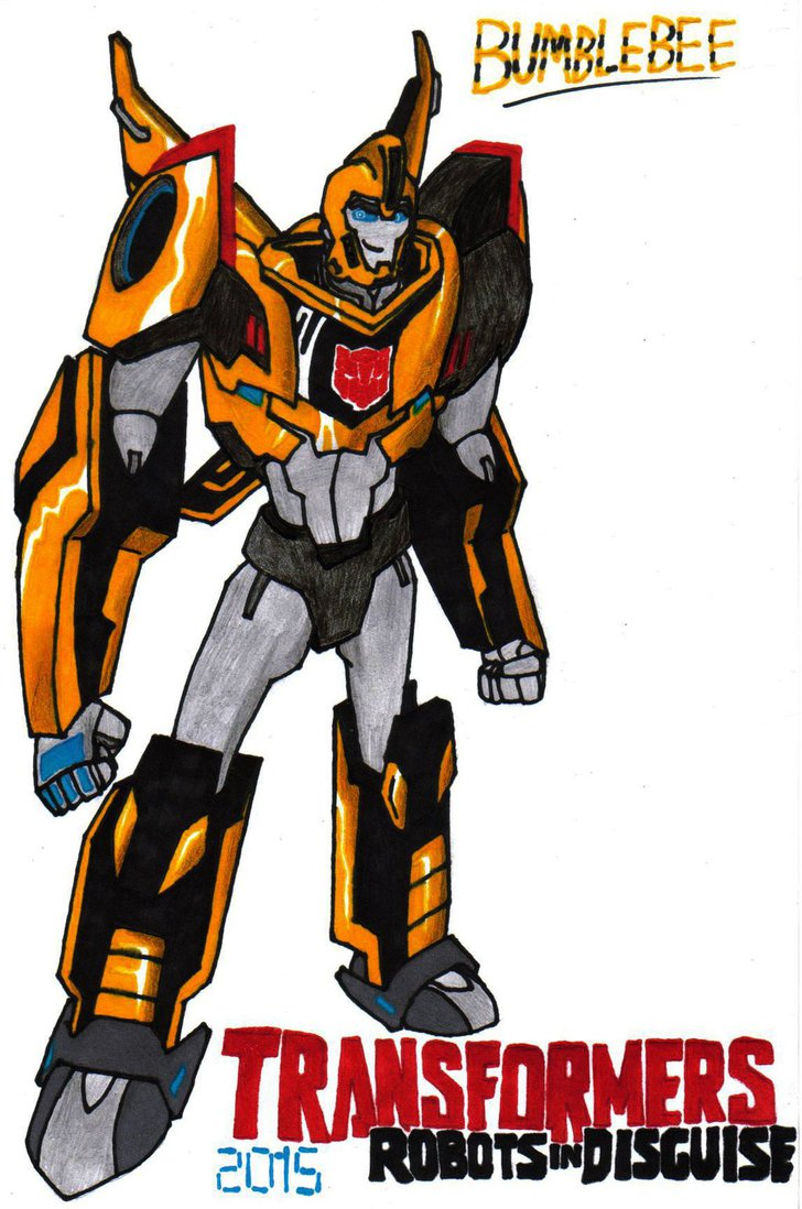 Transformers robots in disguise 5 bumblebee by clipart