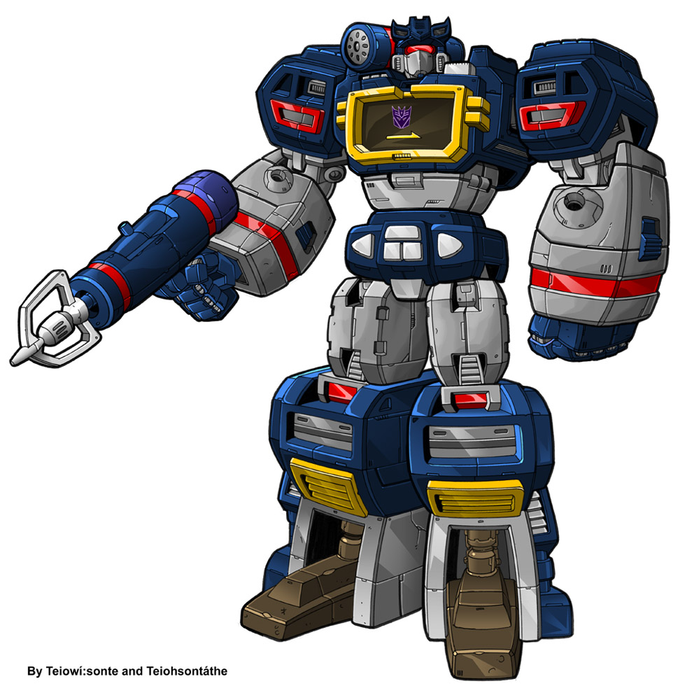 Transformers soundwave clipart free