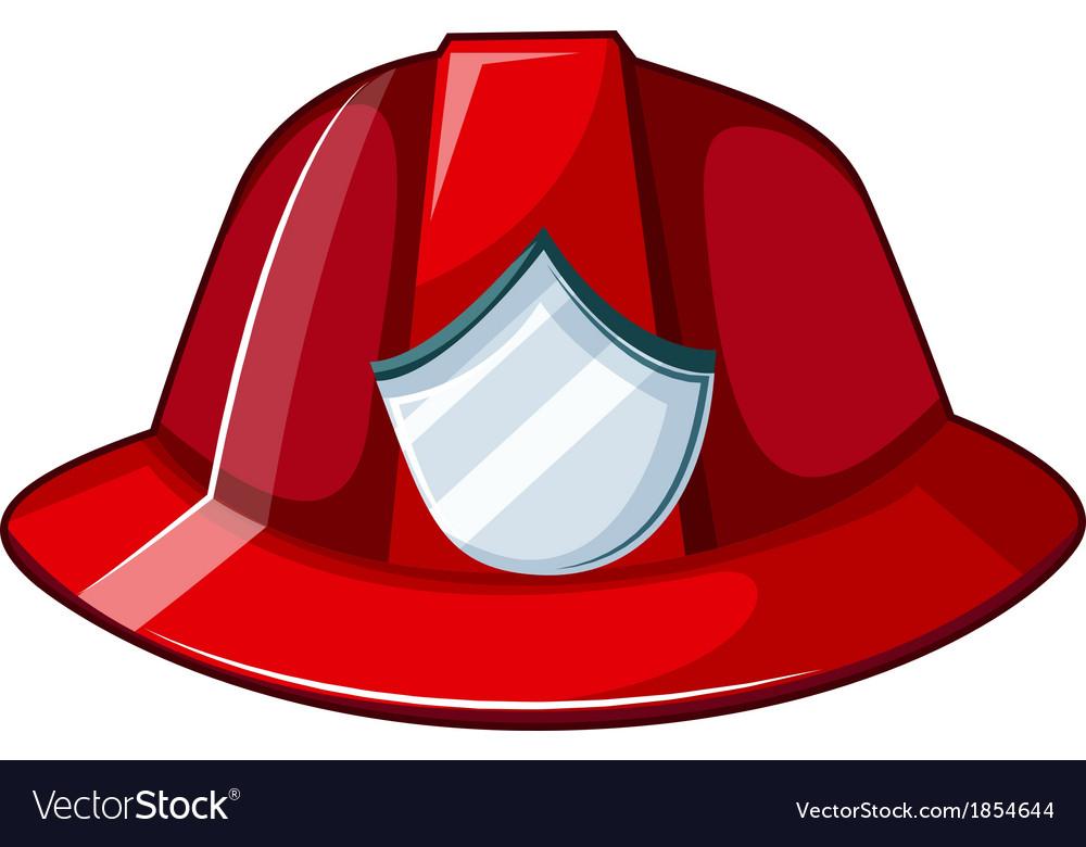Fire hat fire helmet free vector image vectorstock clipart