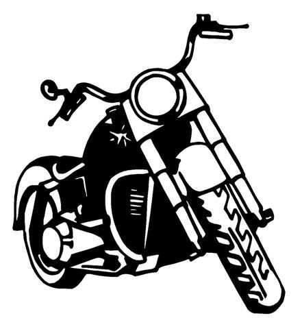 Motorcycle  black and white harley motorcycle silhouette vector harley motorcycle clipart