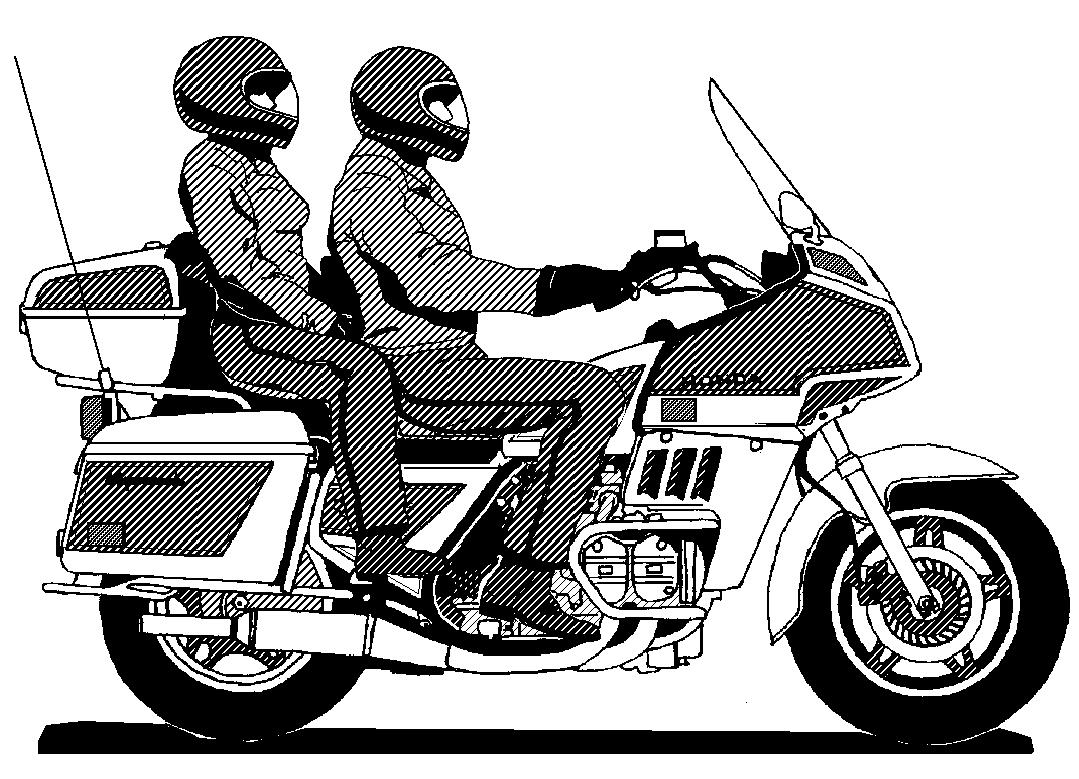 Motorcycle  black and white top motorcycle clip art free clipart image 4
