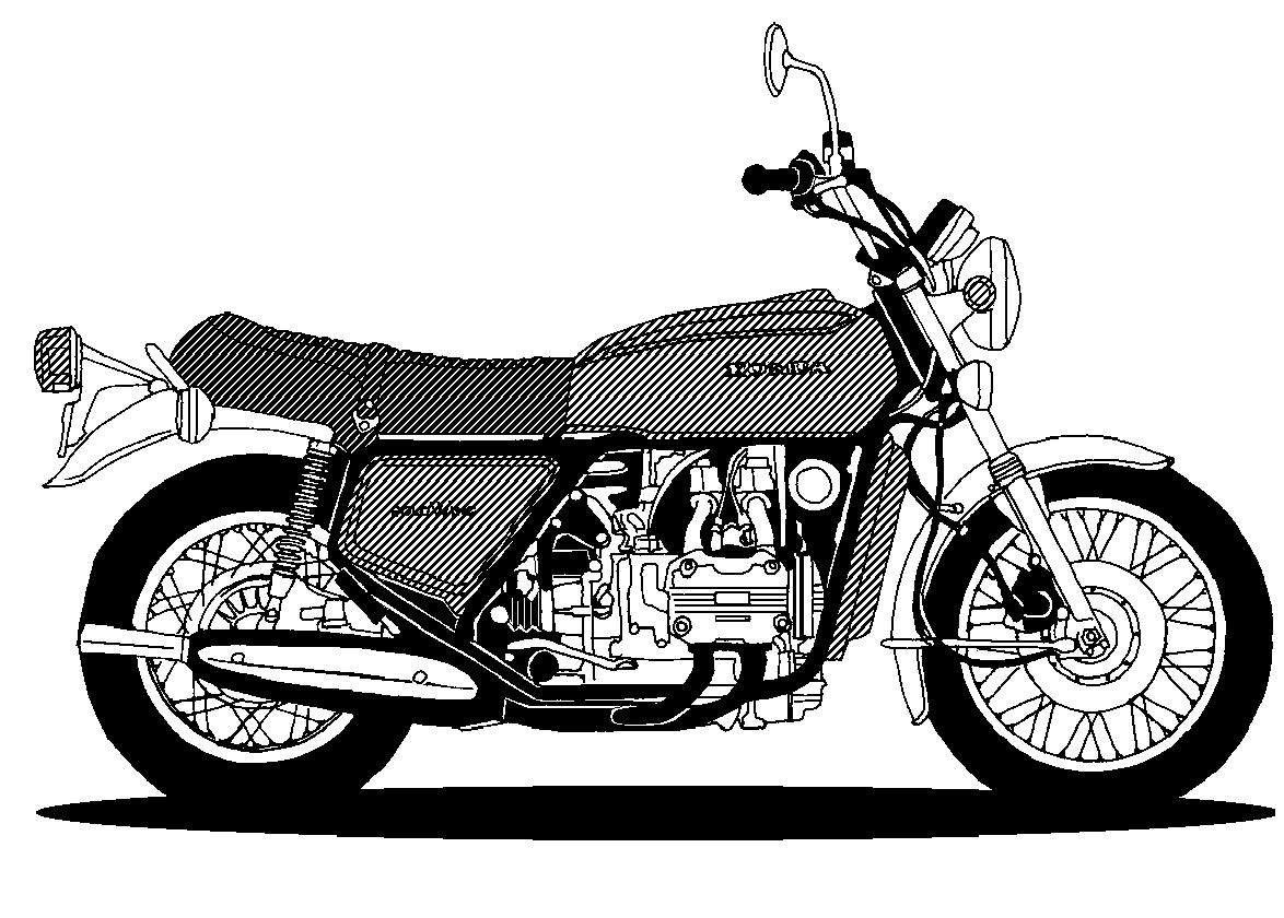 Motorcycle  black and white vintage motorcycle clipart black and white clip art library